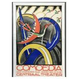 1922 Dutch Theatre Advertising Poster, by Schwartz