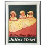 c.1905 Julius Meinl Coffee Advertising Poster