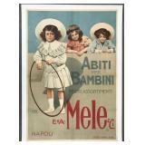 Abiti Per Bambini, Italian Advertising Poster