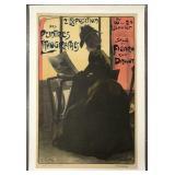 2e Exposition des Peintres Poster, Fernand Gottlob