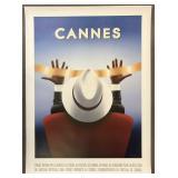 """2004 Razzia """"Cannes"""" Film Festival Poster"""