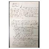 Abraham Lincoln, Autograph Document Signed Twice