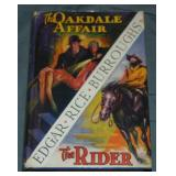 Burroughs. The Oakdale Affair and The Rider.