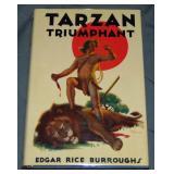 Burroughs. Tarzan Triumphant. 1st in DJ.