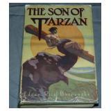 Rare. Burroughs. Son of Tarzan. 1st DJ.