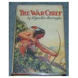 Burroughs. The War Chief. 1st Ed. in Scarce DJ.