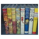 Edgar Rice Burroughs. Lot of Eight.