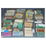 Ticket and Ephemera Lot.