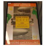 Paul Theodore Etbauer. Zeppelin Poster.