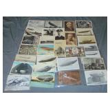 Zeppelin Photo and Post Card Lot.