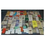Lot of Timetables. Mid 19th-Mid 20th century.