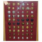 British Military Button Lot.
