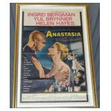 1956 Anastasia One Sheet Movie Poster