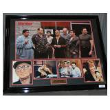 Sopranos Cast Signed Photo Collage