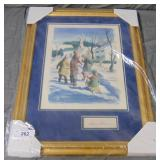 Signed Preston Blair Original Painting, Disney Art