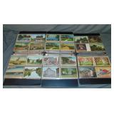 Postcard Lot, 3 Albums