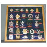 Scottish and Irish Military Badges.