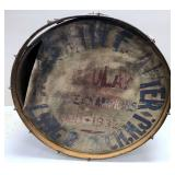 Repurposed Maple Civil War Bass Drum