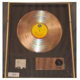 Madonna Platinum Debut Album Award
