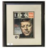 1961 LOOK Magazine Signed John F. Kennedy