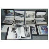 Transportation Photo Lot, 8 Albums