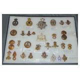 British Military Pins.