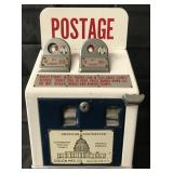 American Postmaster Coin Op Postage Dispenser