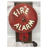 Hand Crank Fire Alarm Bell
