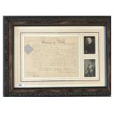 1930 George V Signed Military Appointment