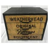 Weatherhead Fittings Metal Store Display Box