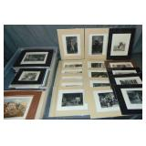 Lot of 19th Century Engravings