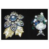 Lawrence Vrba Brooches. Lot of 2.