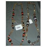 Vrba. Strand Necklaces. Lot of 2.
