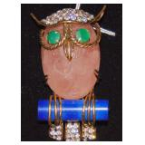 Iradj Moini Owl Pin.