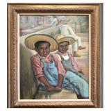 Joseph Margulies  (1896 - 1984) Oil on Canvas.