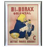 Bi-Borax French Advertising Poster, F. Poulbot
