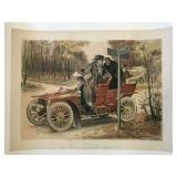 Georges Redon, French Automobile Poster