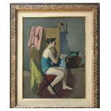 Nicolai Cikovsky. 1894-1987. Oil on Canvas