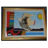 Max Papart, Signed Limited Edition Lithograph
