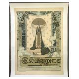 Early Opera Poster, Esclarmonde