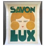 Savon Lux, Original Maquette Poster, E. TInel