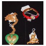 Kenneth J Lane Jewelry. Lot of 3.