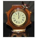 Jay Strongwater. Jeweled and Enameled Clock.