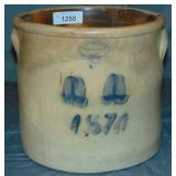 Stone Ware Crock. Brown Brothers.