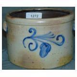 Stoneware Bowl. 19th century.