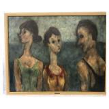 Edouard Joseph Goerg (1893 - 1969) Oil on Canvas