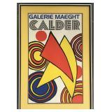 "Alexander Calder, ""Galerie Maeght"" Poster"