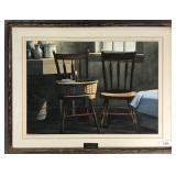 """Leo Yeni Watercolor, """"Interior Still Life"""""""