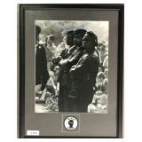 Mark James Powers, Signed Black Panthers Photo