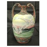 Nippon Moriage Vase.